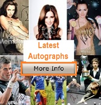 Latest Autographs