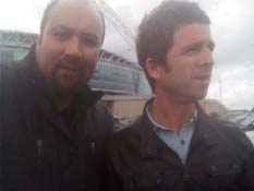 Noel Gallagher (Oasis) & Dave Sherwood