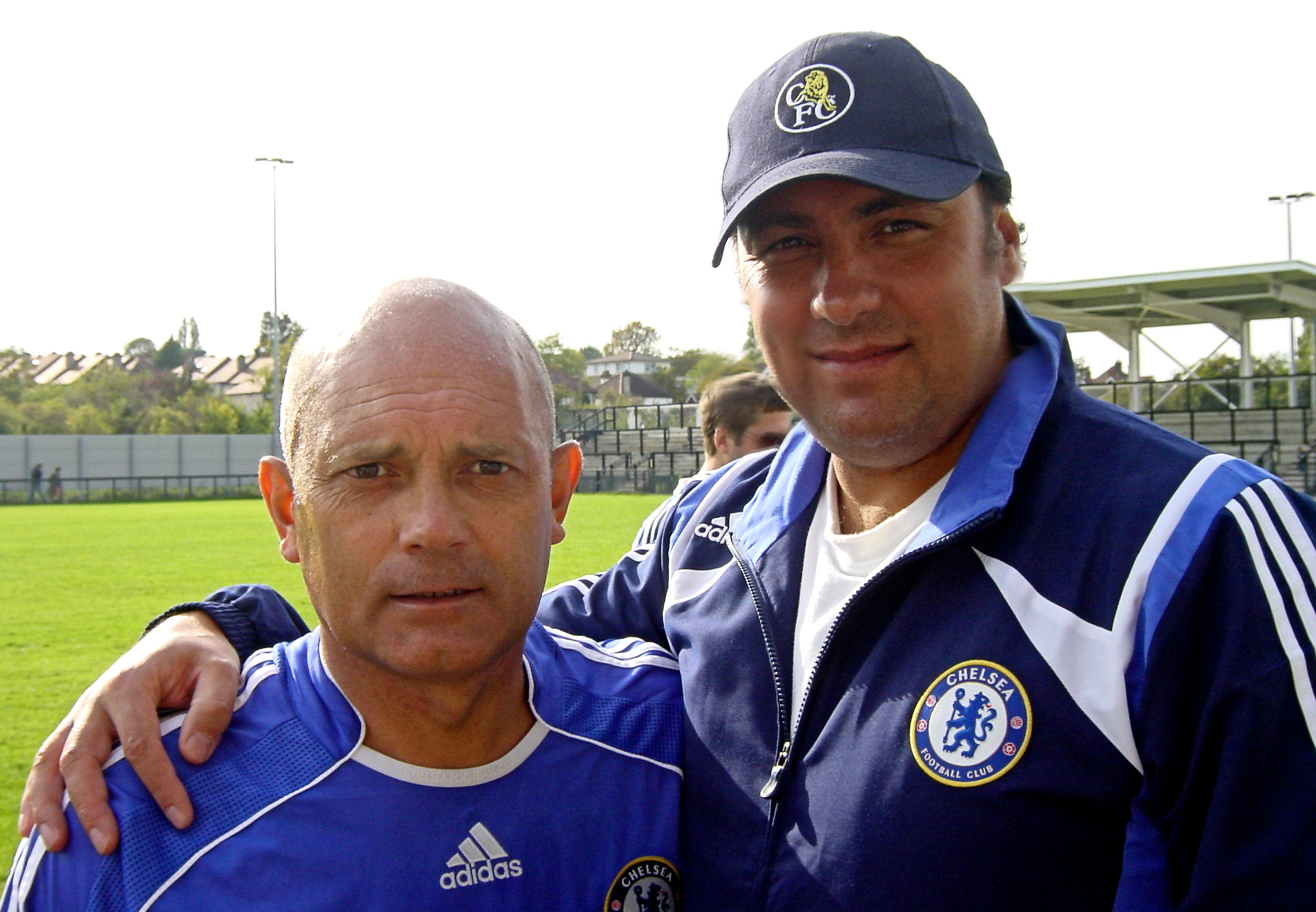 Ray Wilkins & Dave Sherwood