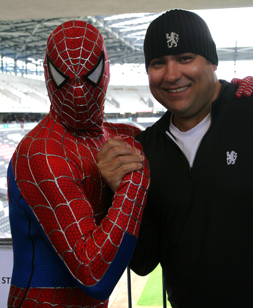 Spiderman & Dave Sherwood