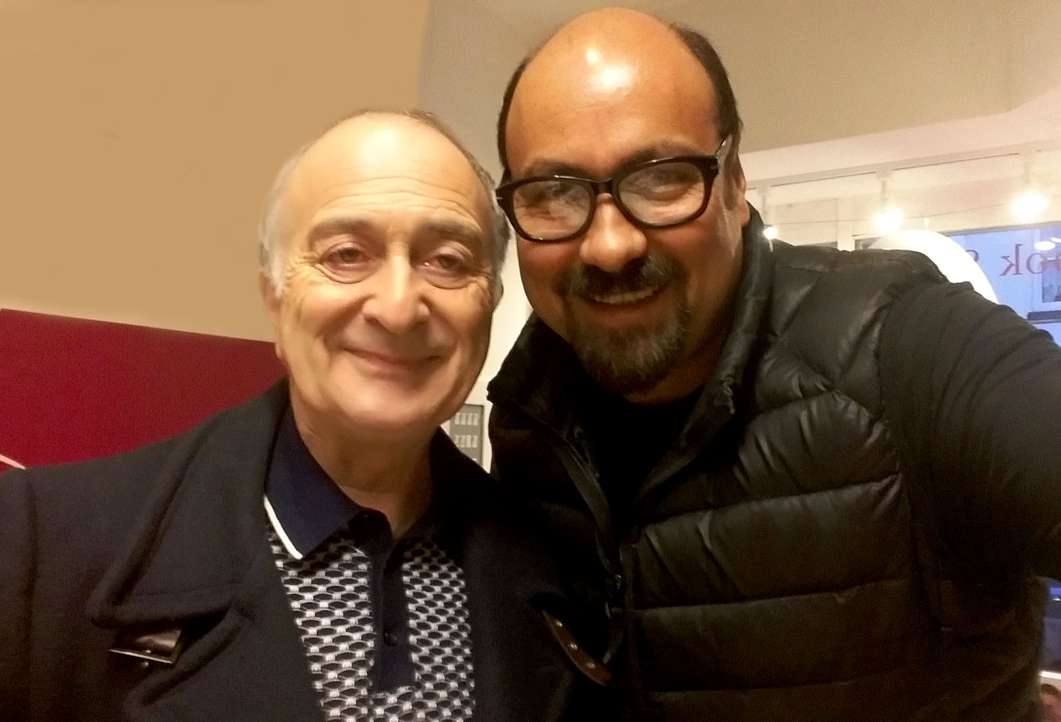 Sir Tony Robinson & Dave Sherwood