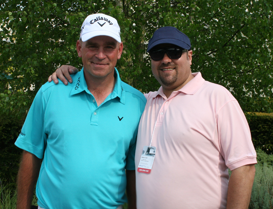 Thomas Bjorn & Dave Sherwood