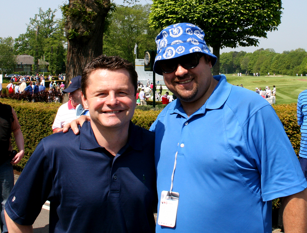 Chris Hollins & Dave Sherwood
