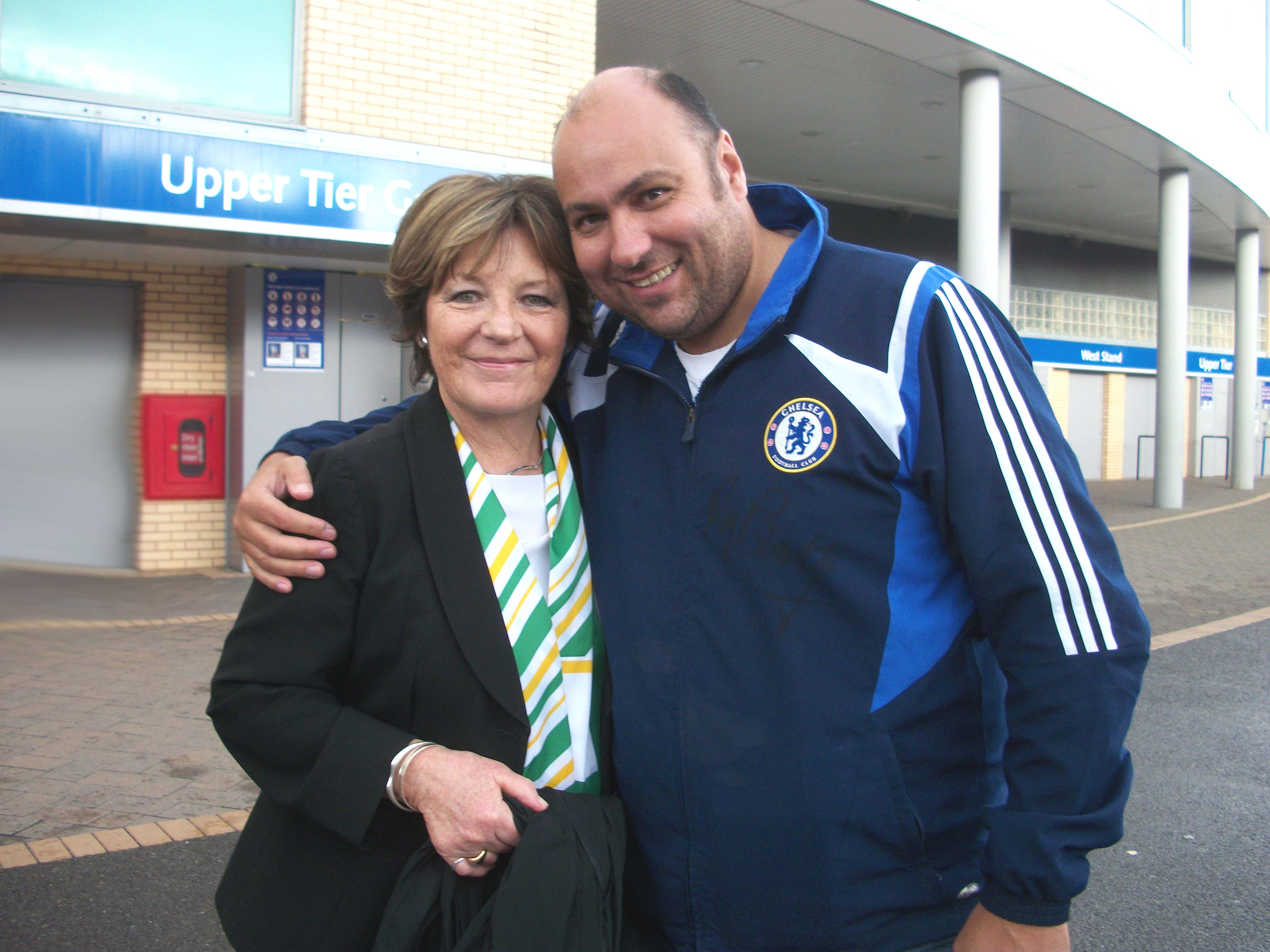 Delia Smith & Dave Sherwood