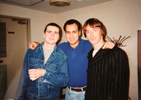 Paul Weller, Steve White & Dave