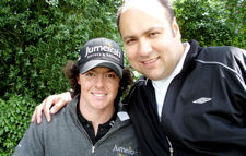 Rory McIlroy & Dave Sherwood