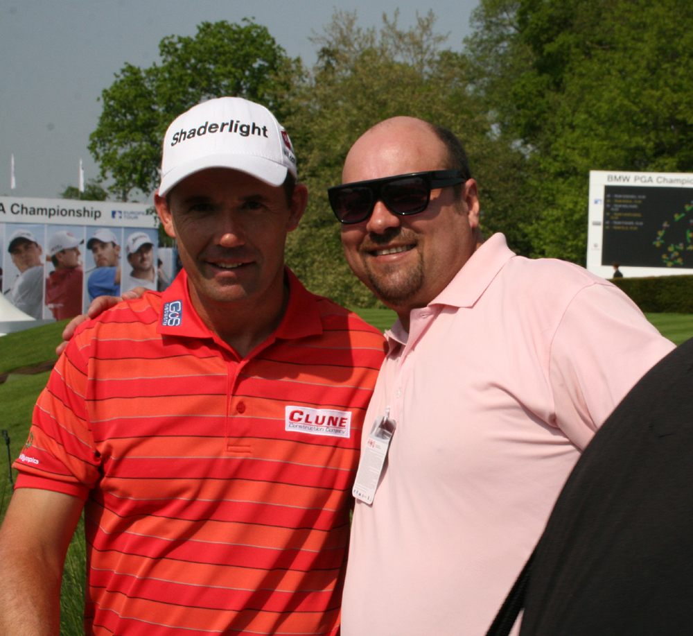 Padraig Harrington & Dave Sherwood