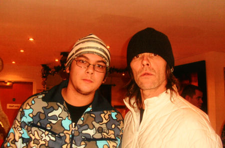Ian Brown with GenMem's Kris