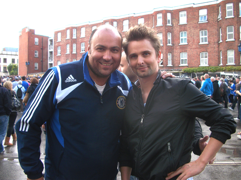 Matt Bellemy (Muse) & Dave Sherwood