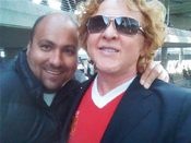 Mick Hucknall (Simply Red) & Dave Sherwood