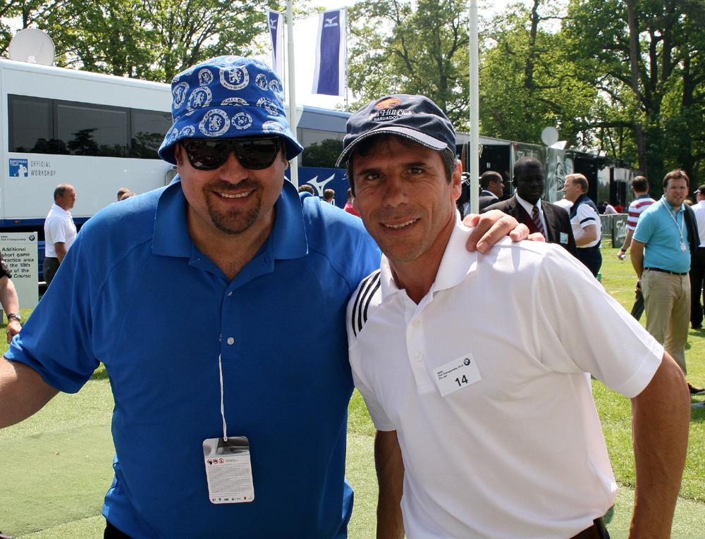 Gianfranco Zola & Dave Sherwood