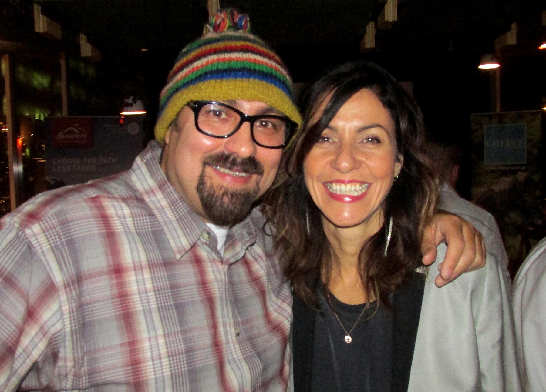 Julia Bradbury & Dave Sherwood