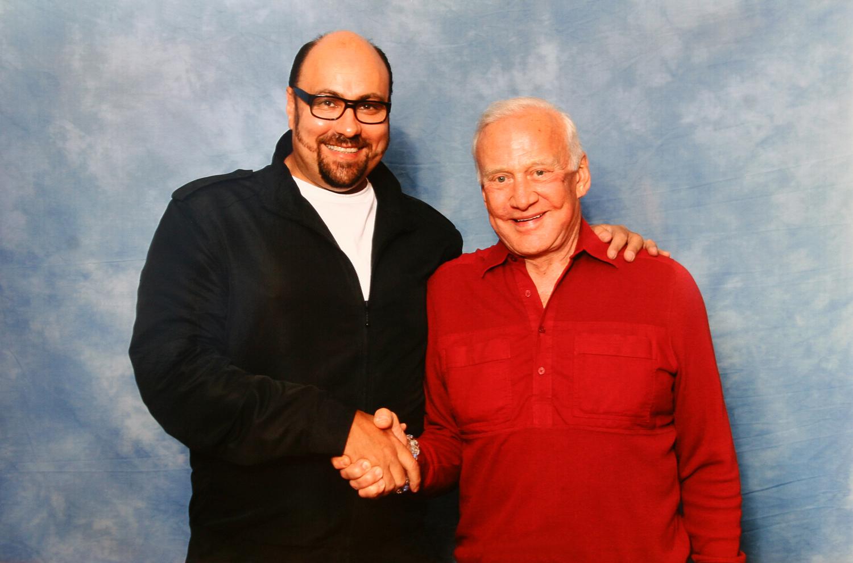 Buzz Aldrin & Dave Sherwood
