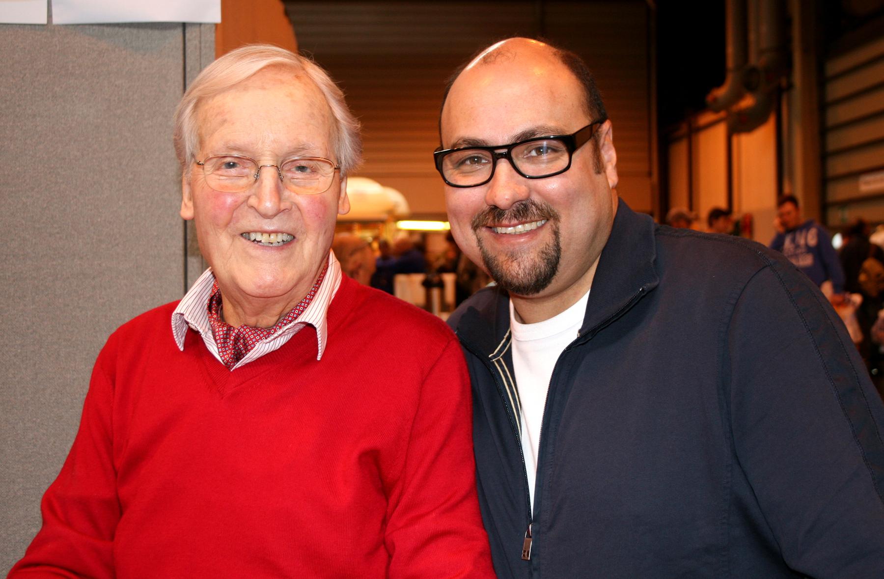 Nicholas Parsons & Dave Sherwood