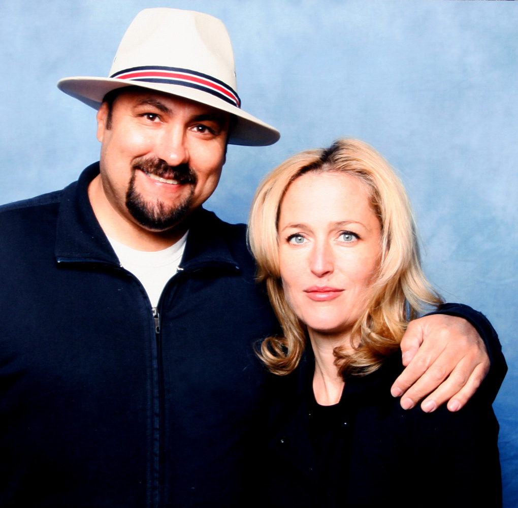 Gillian Anderson & Dave Sherwood
