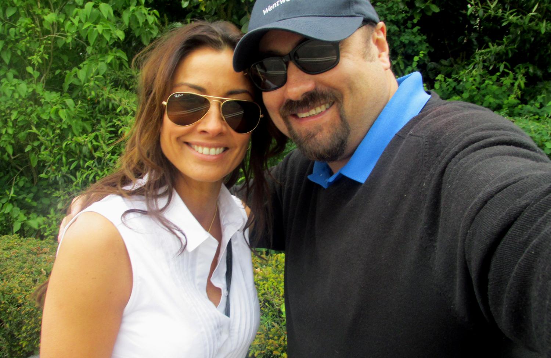 Melanie Sykes & Dave Sherwood