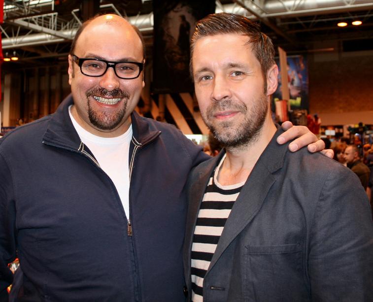 Paddy Considine & Dave Sherwood