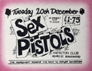 Sex Pistols Ticket