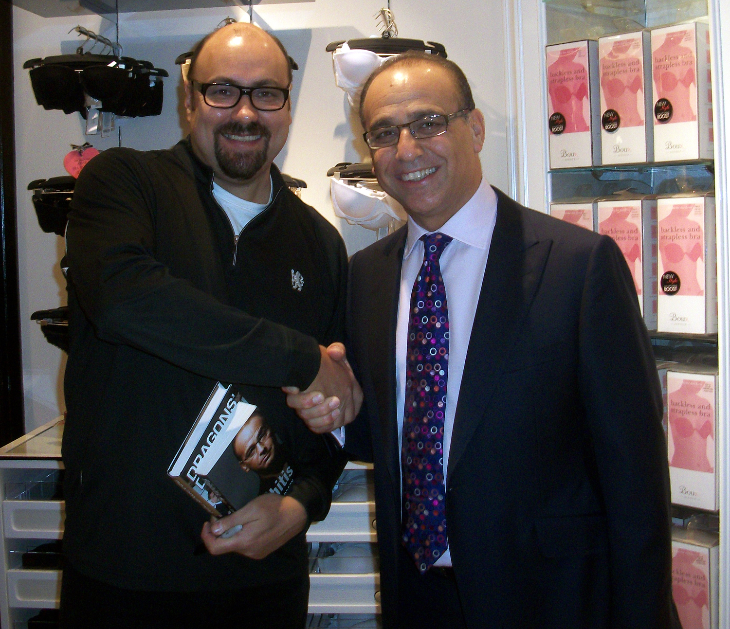 Theo Paphitis & Dave Sherwood