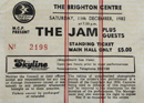 The Jam Ticket