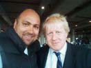Boris Johnson & Dave Sherwood