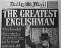Winston Churchill Newspaper