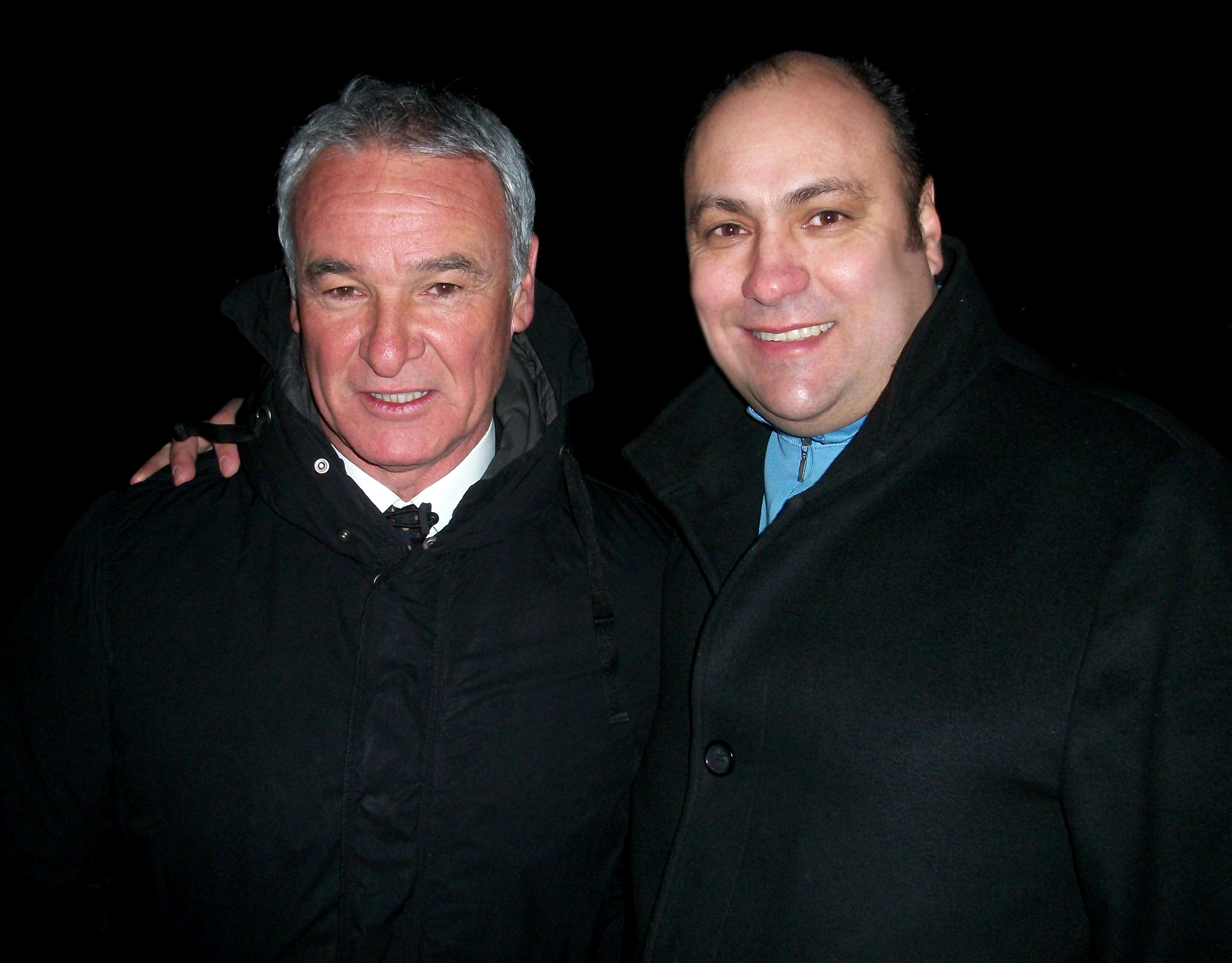 Claudio Ranieri & Dave Sherwood