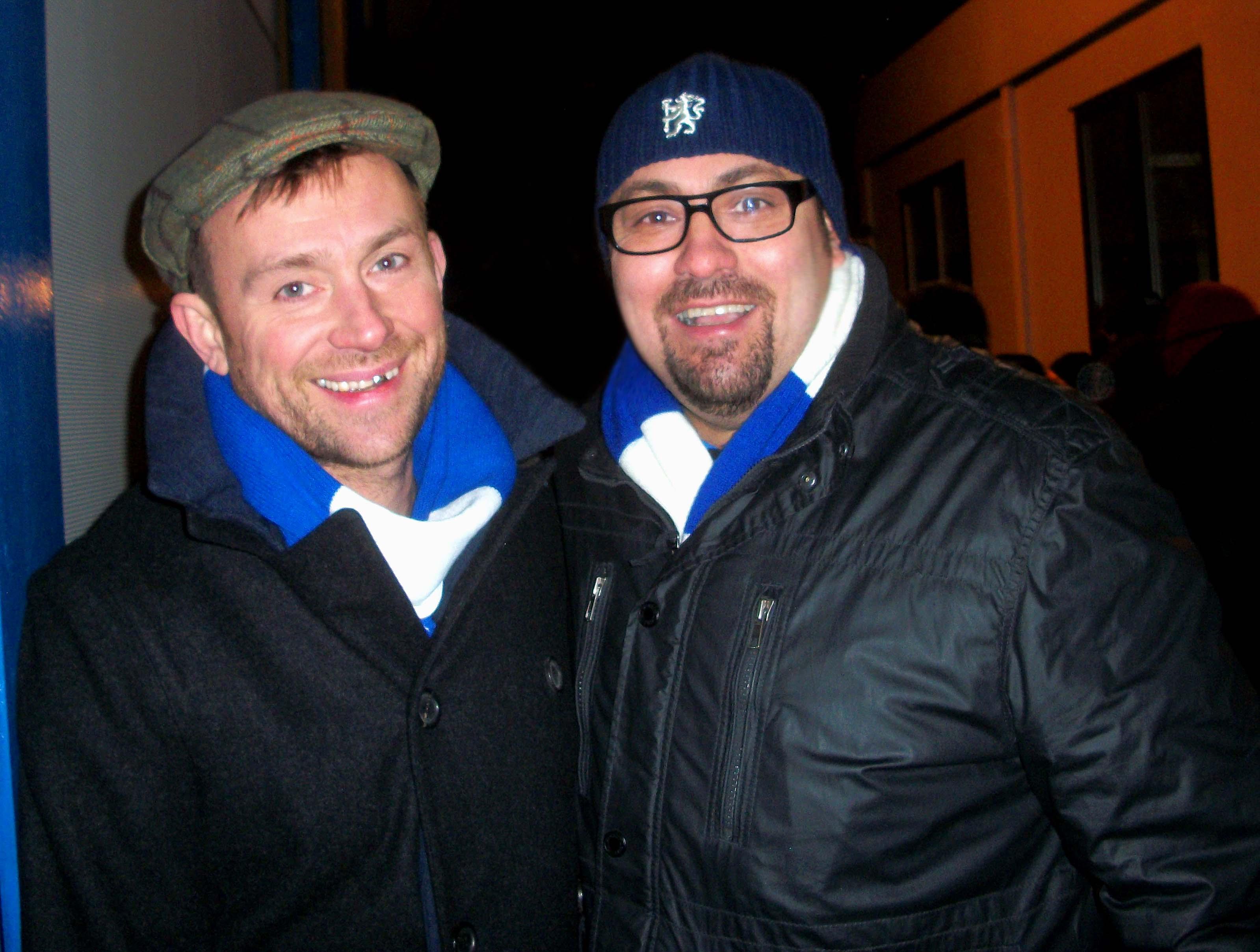 Damon Albarn & Dave Sherwood