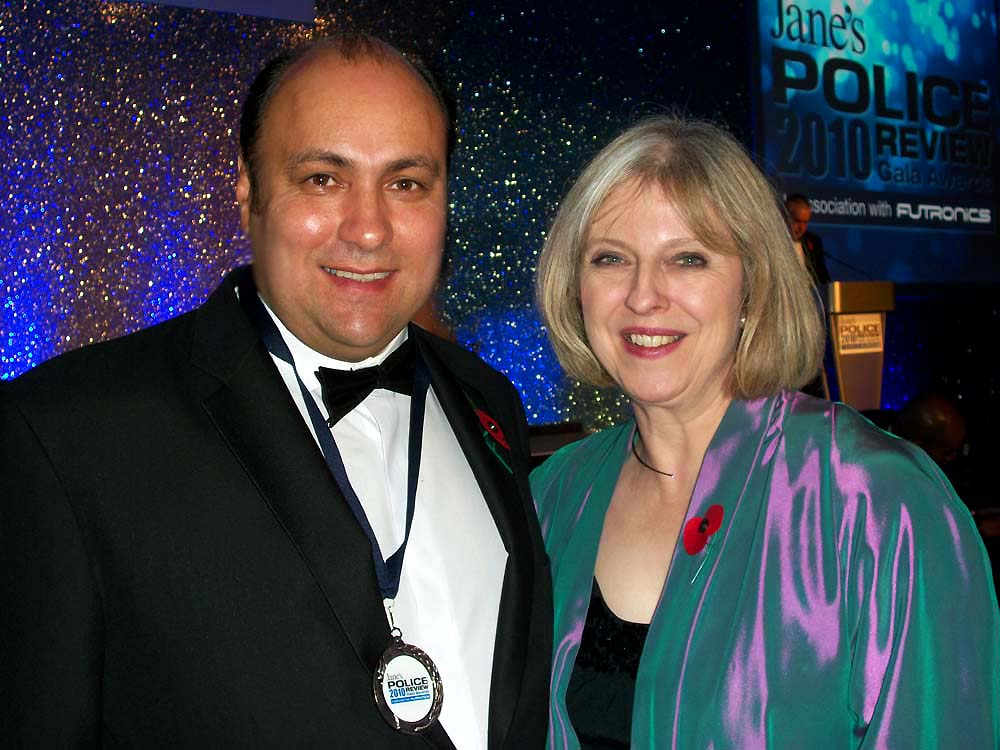 Prime Minister Theresa May & Dave Sherwood